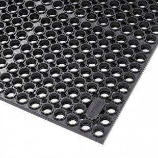 Sanitop Deluxe schwarze Industriematte