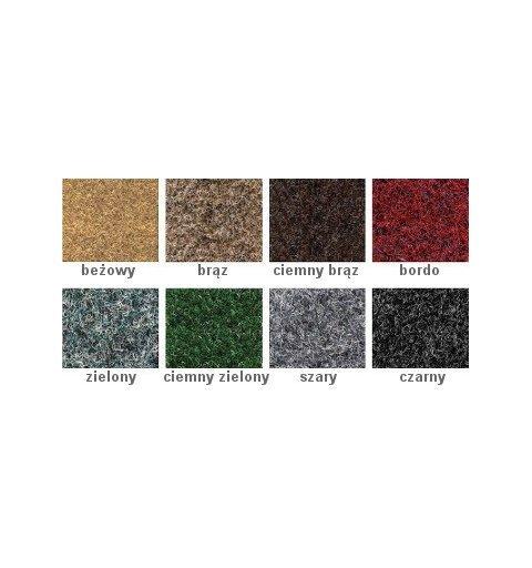 Wycieraczka do butów Klif 40x60 50x75 8 kolorów wzornik kolorów maty