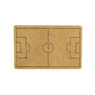Cliff doormat Footbal pitch pattern home mat