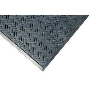 Rubberen mat voor de deurmat