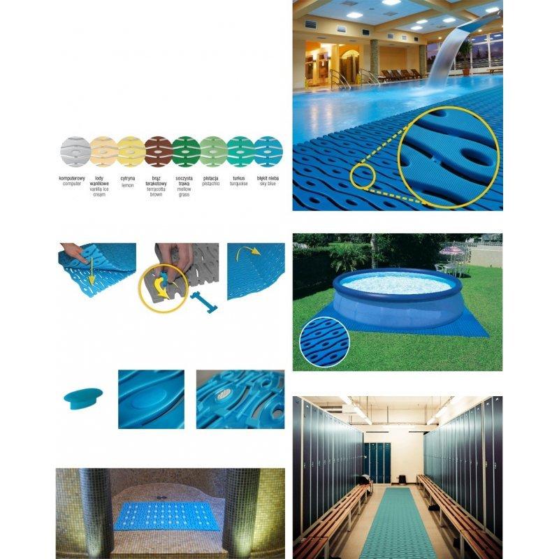 Rutschfeste Poolmatte antirutschmatte schwimmbad
