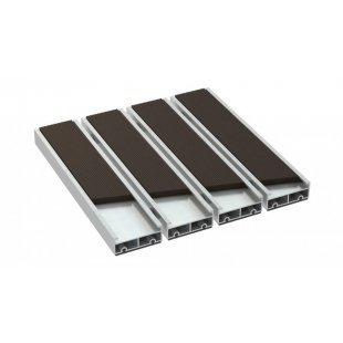 Wycieraczka aluminiowa alumata Beta xl ryps guma