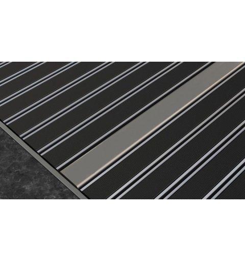 Wycieraczka aluminiowa alumata Laser design