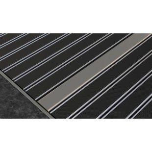 Aluminum doormat Laser design