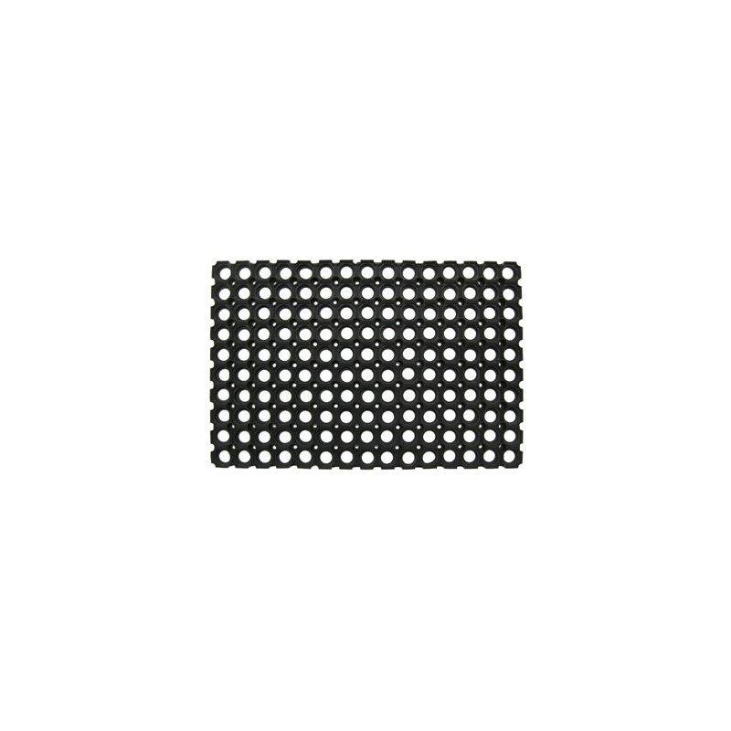 Wycieraczka gumowa Compos 50x100 cm mata czarna