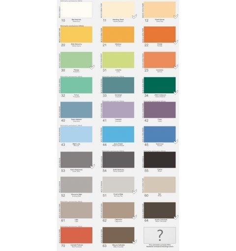 Odbojoporęcz różne wymiary i kolory poręcz kolory