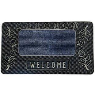 Wycieraczka gumowa Welcome 40x70