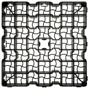 G4 SYSTEM lawn grate 50x50 cm grating