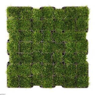 Gras für Grasgitter