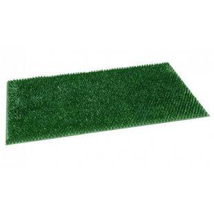 Grünes Gras des Scheibenwischers