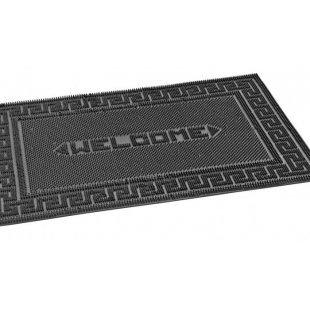 Wycieraczka gumowa Igiełki Welcome Black 40x60 cm