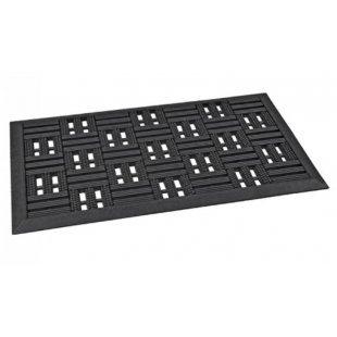 Wycieraczka gumowa Israel Chess Black 40x60