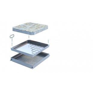 Inspektionsluke aus Aluminium, Stahlo Deck