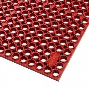 Mata antypoślizgowa czerwona Sanitop Deluxe dla gastronomii