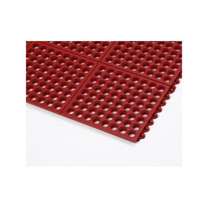 Anti-Ermüdung matte Cushion Ease Red 91x91 cm
