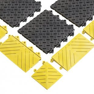 Antislip tegels Diamond Flex Lok Massieve mat