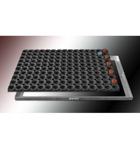 Wycieraczka w ramce metalowej 40x60 lub 50x100 cm