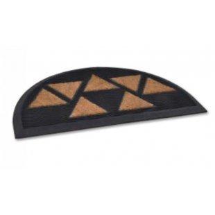 Tekno 2 rubber doormat with coir elements