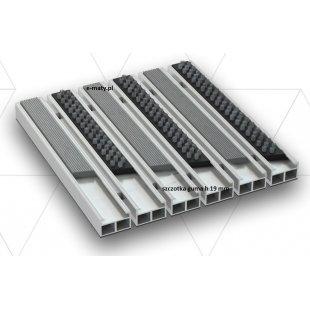 Aluminium Beta Gamma 19mm Aluminiumbürste