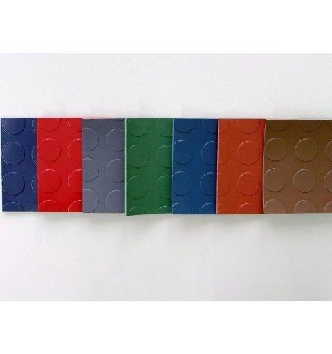 Wykładzina gumowa Metro 3 mm pieniążek kółka mata