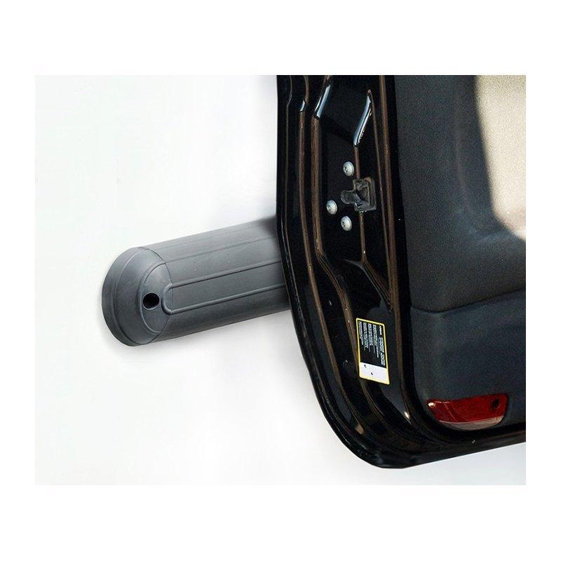 Odbojnica garażowa ścienna 100, 150, 200 cm szara lub czarna