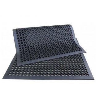 Fußmatte durchbrochene Gummimatte mit einer Einfahrt von 90x150 cm