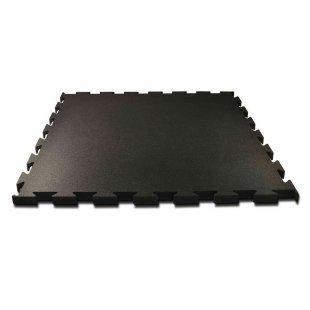Fitnessmatten puzzel 100x100 cm zwart