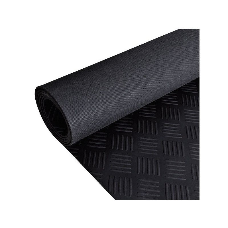 Mata gumowa Checker rolka 1x20 mb wykładzina
