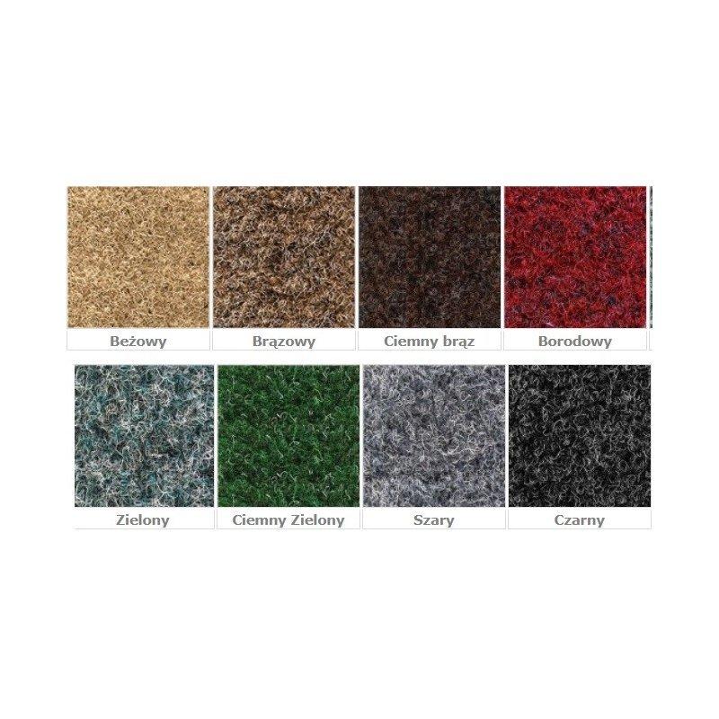 Wycieraczka mata wejściowa Top tekstylna wzornik kolorów