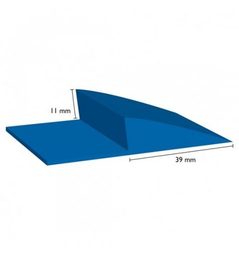 Listwa wykończeniowa krawędź 11 mm wymiary rysunek techniczny najazdu