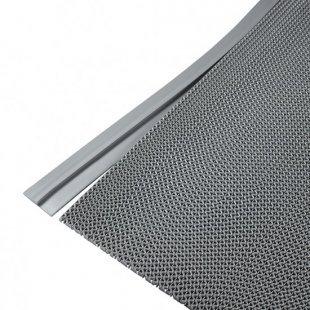 Afwerking striprand 11 mm grijs
