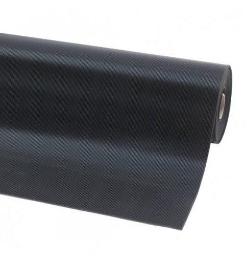 Mata gumowa szeroki ryfel Rib n Roll 3 mm kolot czarny