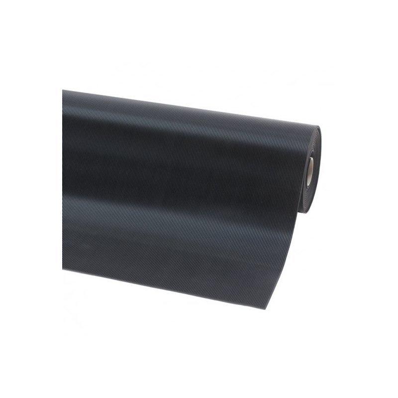Mata gumowa antyposżligowa na stół warsztatowy czarna szeroki ryfel Rib n Roll 3 mm