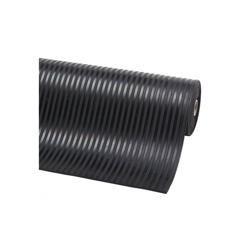 Mata gumowa szeroki ryfel 6 mm Rib n Roll ryflowana prążek antypoślizgowa