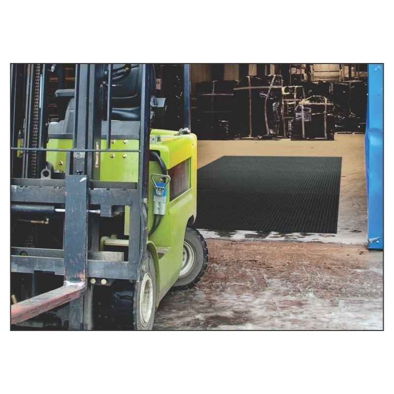 Mata wykładzina system do czyszczenia kół wózków Anchor Safe Lift Truck Mat
