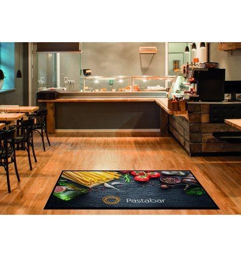 Mata z logo nadrukiem Colorstar dowolny wymiar mata do hotelu restauracji
