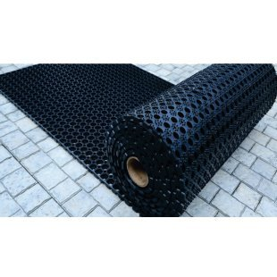 Gummimattenrolle Domino 100x750 cm 22 mm