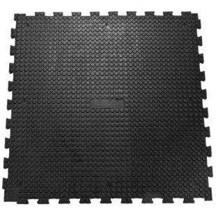 Rutschfeste Bodenmatte 100x100 cm Puzzle