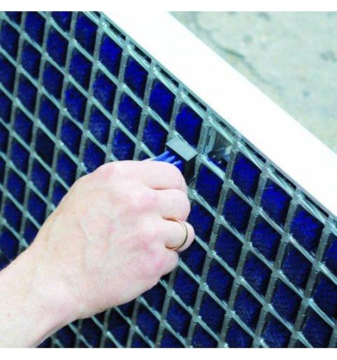 Krata system czyszczenia kół wózków widłowych standard