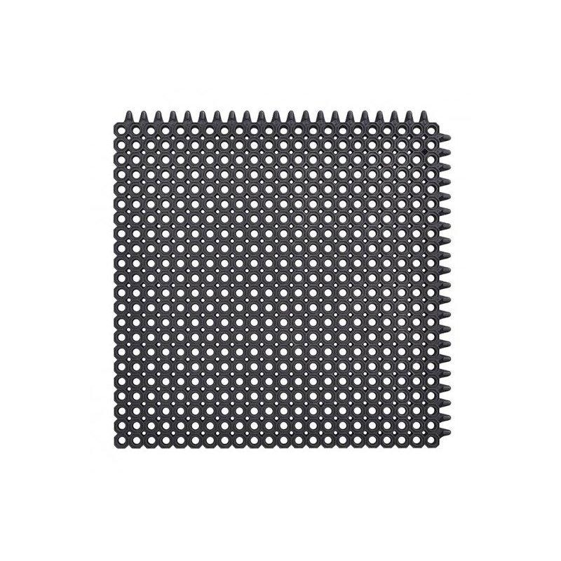 Mata wejściowa gumowa antypoślizgowa Master Flex d12 50x50 cm realizacja zdjecie