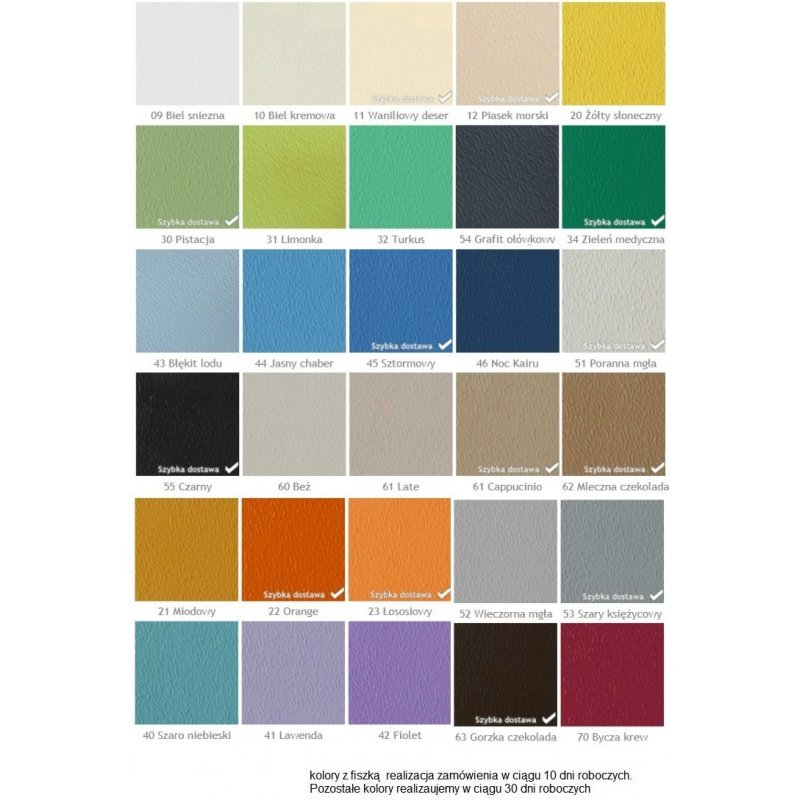 Narożnik regulowany samoprzylepny odbojnica narożna kolory