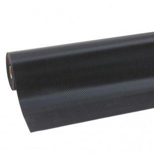 Mata gumowa antypoślizgowa warsztatowa na blaty i stoły robocze wąski ryfel 3 mm Rib n roll fine rib 750C0036BL