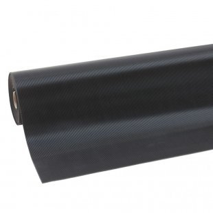 Rubber mat Rib n roll 3 mm fine rib narrow ribbed