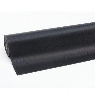 Mata gumowa czarna na stół warsztatowy wąski ryfel 6 mm Rib n Roll prążek 751C0036BL