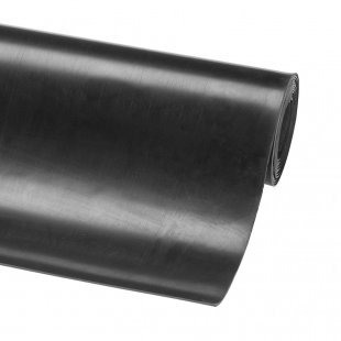 Gladde rubberen mat 3 mm tafel Tac P3