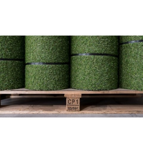 Sztuczna trawa w rolce 120x500 cm Rekograss roll max rolki na palecie 100x120 cm