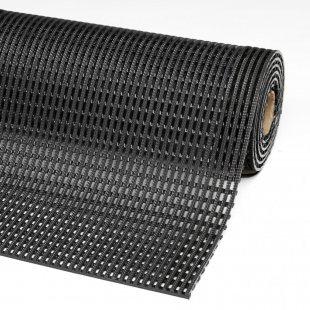 Anti-slip mat Flexdek PVC for wet 12 mm dairies, bottling plants grid