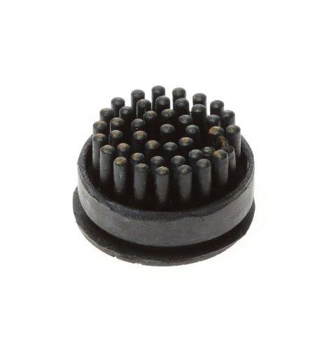 Szczotki szczoteczki do wycieraczki gumowej Domino kolor czarny