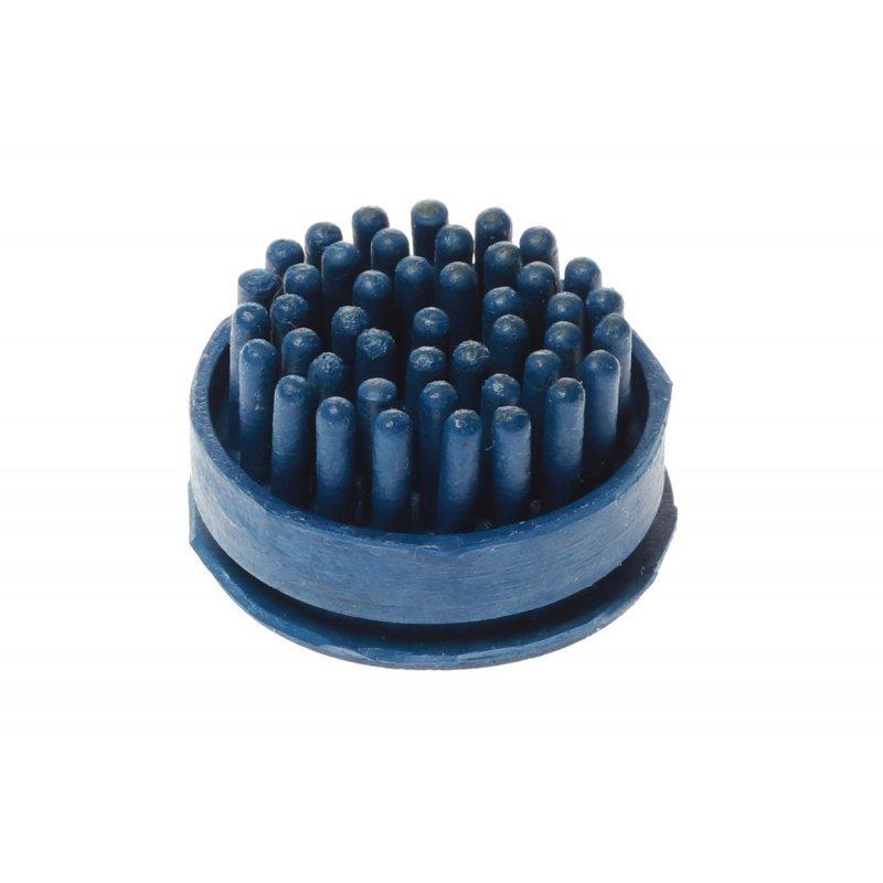 Szczotki szczoteczki do wycieraczki gumowej Domino kolor niebieski