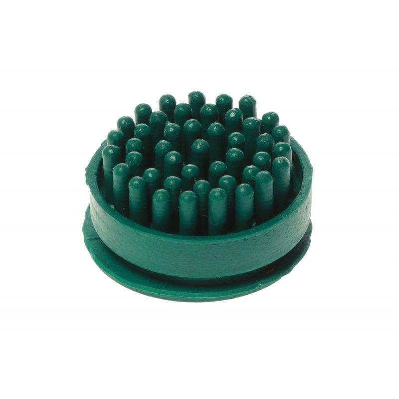 Szczotki szczoteczki do wycieraczki gumowej Domino kolor zielony